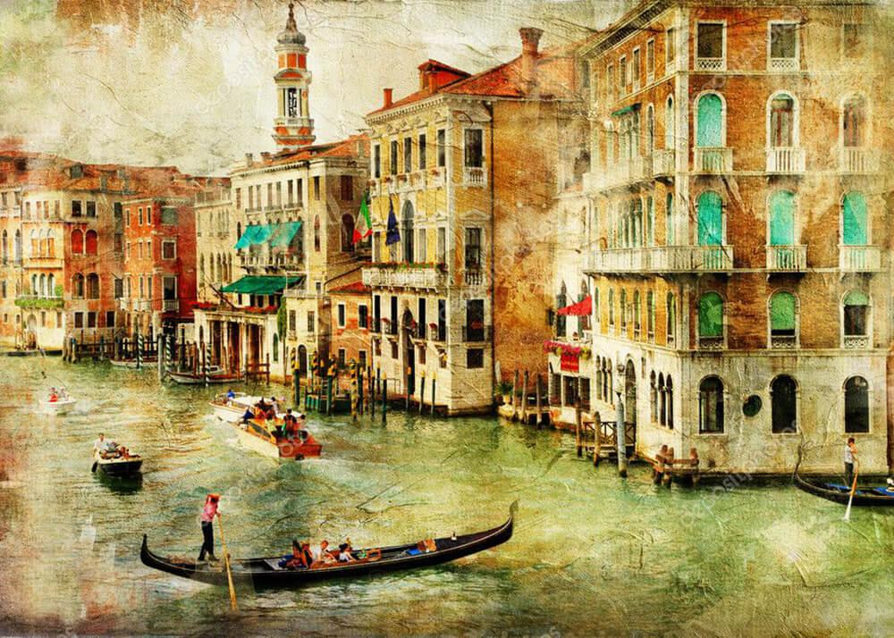 Картина Венеция  - фото