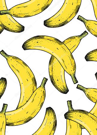 Картина бананы  - фото