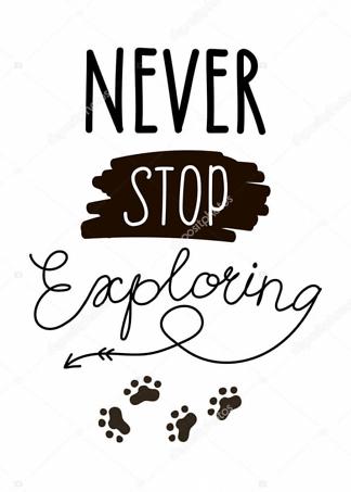 Постер Never stop exloring  - фото