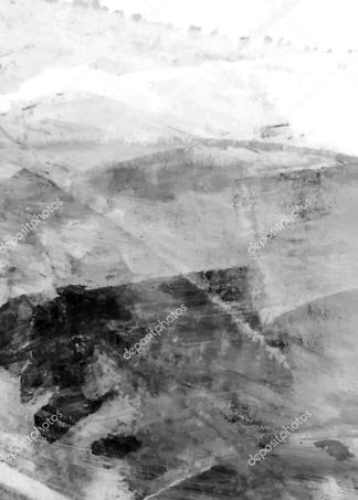 Картина белый акрил  - фото