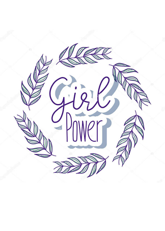 Постер girl power  - фото