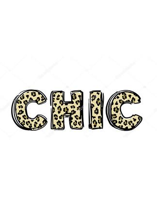 Постер chic  - фото