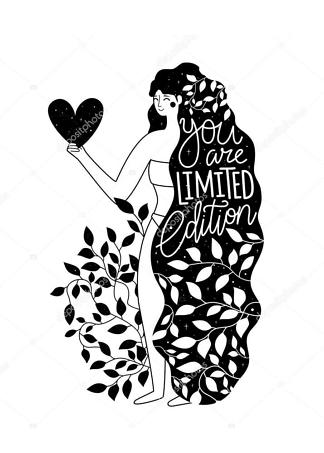 Постер you are limited edition  - фото