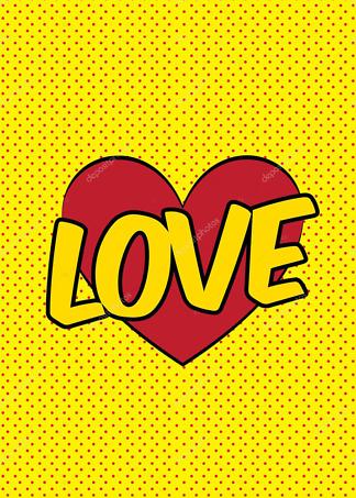 Картина Love  - фото