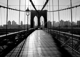 Картина Бруклинский мост  - фото