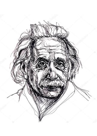 Картина Альберт Эйнштейн  - фото