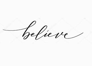 Постер believe  - фото