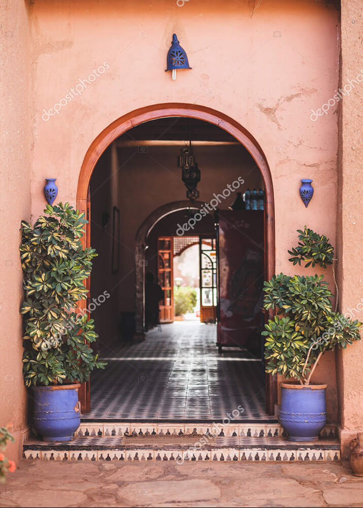 Постер арка в Марокко  - фото