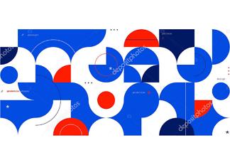 Картина абстрактный принт  - фото