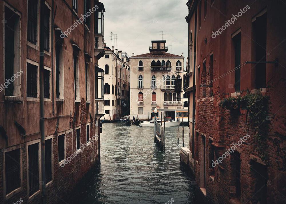 Постер каналы Венеции  - фото