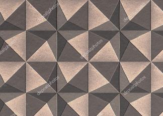 Картина кубы сепия  - фото