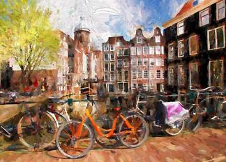 Картина Амстердам  - фото
