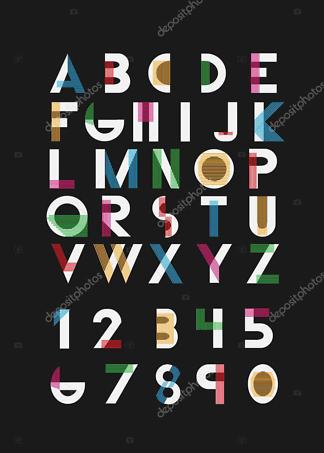 Постер алфавит  - фото