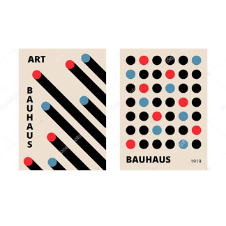 Модульная картина абстрактная  - фото