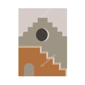 Модульная картина архитектура востока  - фото 2