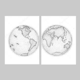 Постер Планета Земля  - фото