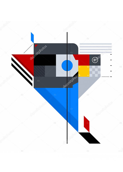 Постер абстракция  - фото