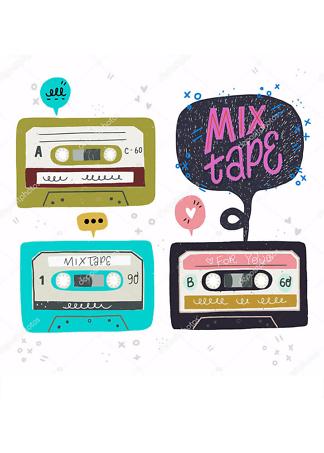 Постер аудиокассеты  - фото