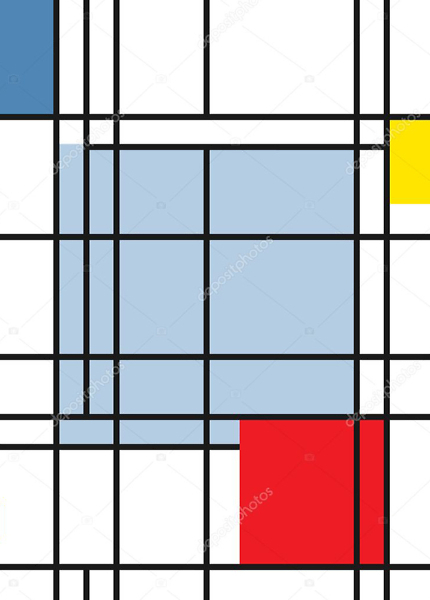 Постер геометрический  - фото