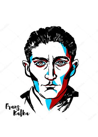 Постер портрет Кафки  - фото