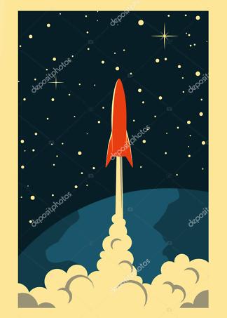 Постер Горы и полная Луна  - фото 2