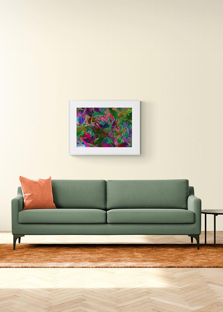 Картина в абстрактной технике  - фото 2