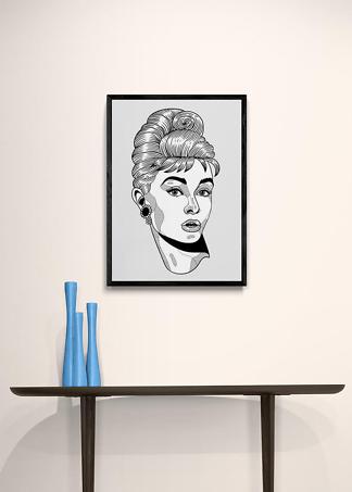 Постер Одри Хепберн  - фото 2