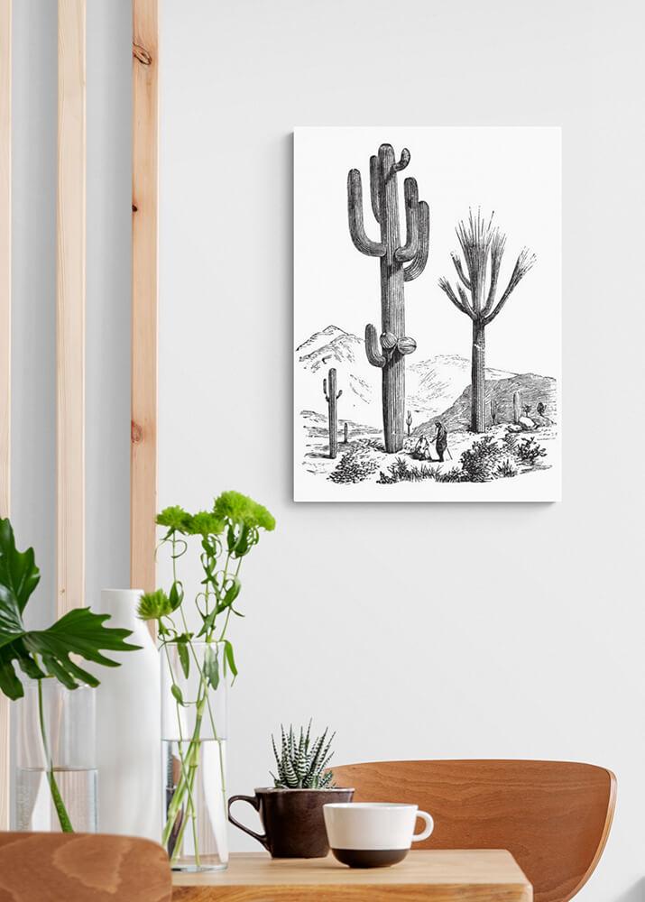 Постер кактус Carnegia gigantea  - фото 2