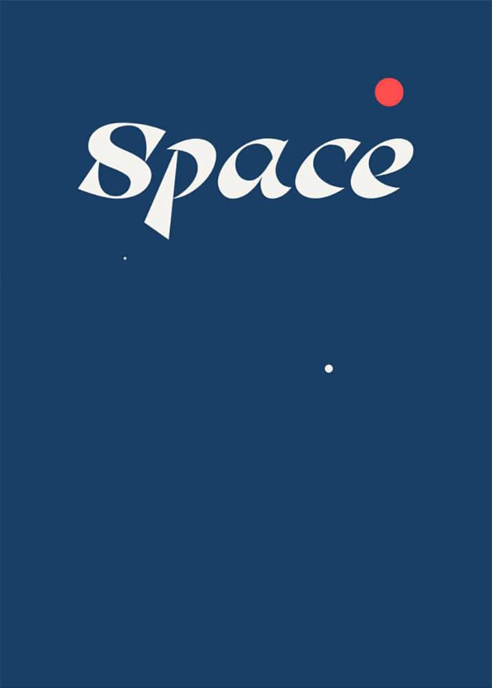 Постер Космос  - фото