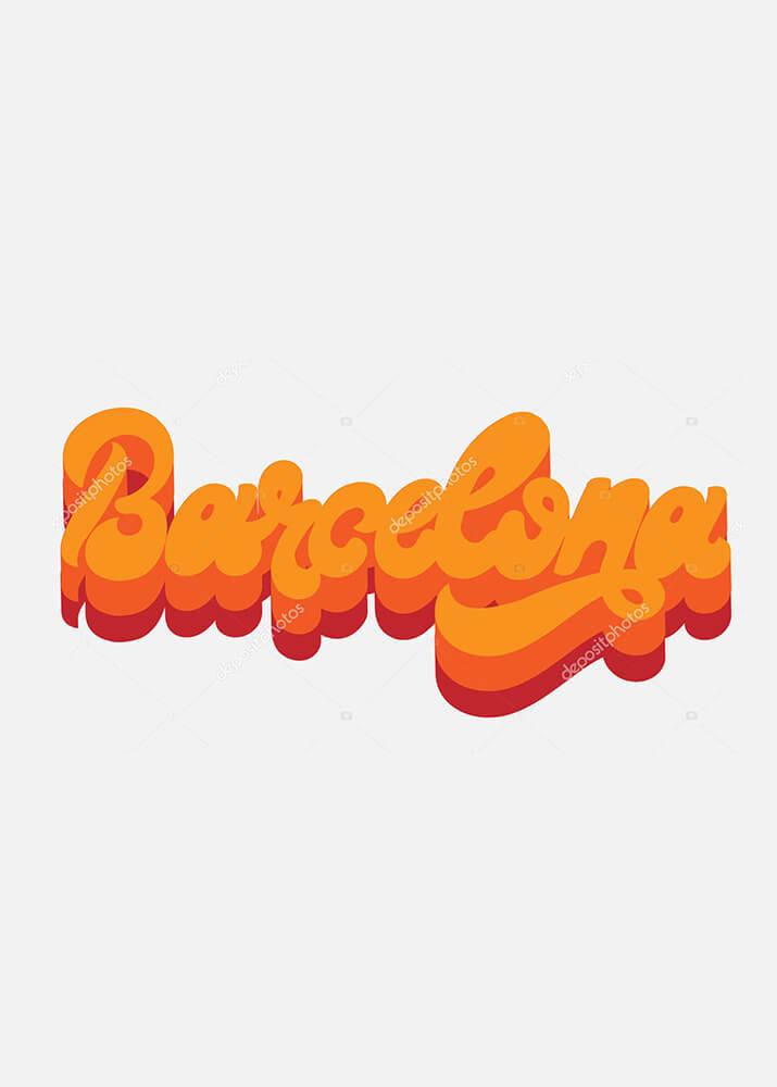 Постер Barcelona  - фото