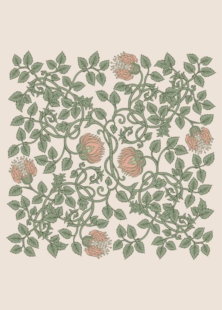 Постер Зачарованные цветы  - фото