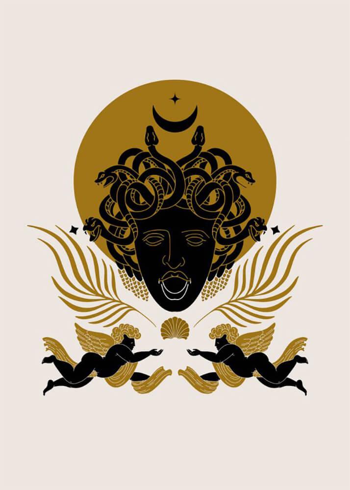 Постер Медуза  - фото