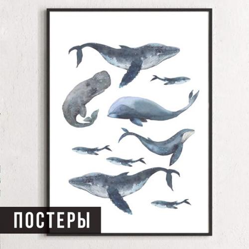 Декор стен постерами -1